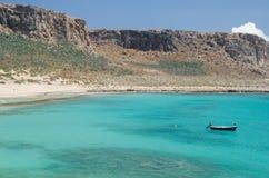 巡航在格拉姆武萨群岛海岛希腊 免版税库存图片