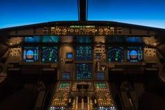 巡航在飞行水平面360 库存照片