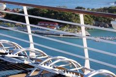巡航船的海地labadee 免版税库存照片
