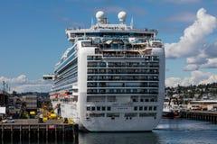 巡航西雅图船 免版税库存照片