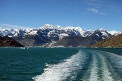巡航通过美丽的威廉王子湾 免版税库存图片