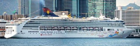 巡航香港船 免版税库存图片