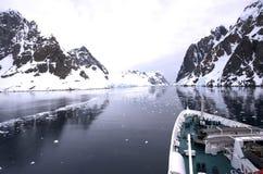 巡航gerlache船 免版税图库摄影