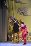 巡逻北京歌剧:对我的姘妇的告别 免版税库存图片