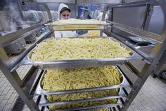 工业厨房工作者019 免版税库存图片