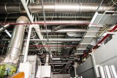 工业吸尘器系统  库存图片