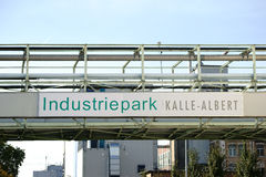 工业园Kalle阿尔伯特 免版税库存图片