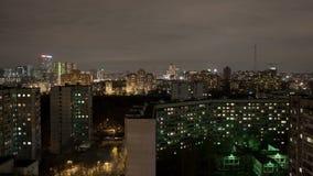 工业城市时间间隔在夜之前 影视素材