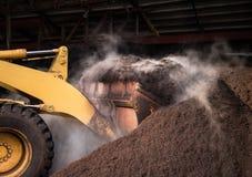 工业堆肥 库存照片