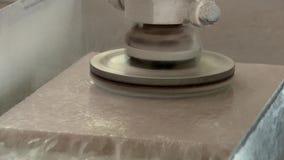 工业处理人为石头 影视素材