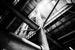 工业威斯敏斯特的管 库存照片