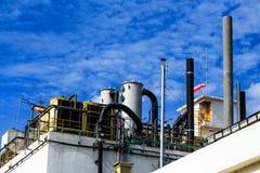 工业工厂3 库存照片