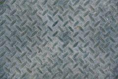 工业工厂floo灰色老和土金属片纹理  免版税库存照片