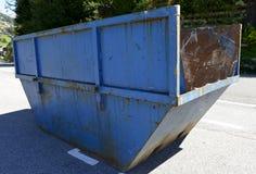 工业废料容器 免版税库存图片