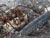 工业废料 库存照片