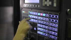 工业机器首席验查员 关闭a 股票视频