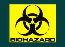 工业标志-生物危害品标志-医学 库存照片