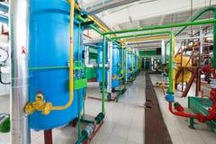 工业水处理的过滤器 免版税库存图片