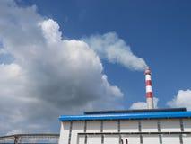 工业烟窗 免版税图库摄影