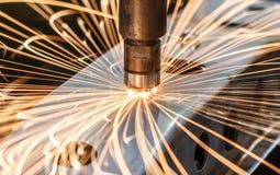 工业焊接汽车在泰国 库存照片