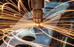 工业焊接汽车在泰国 免版税库存照片