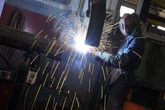 工业焊接 库存照片