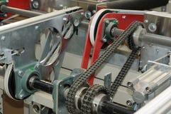 工业生产线 免版税库存图片