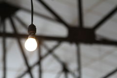 工业电灯泡 免版税库存图片