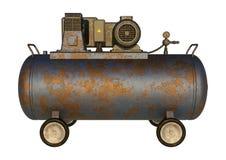工业空气压缩机 图库摄影