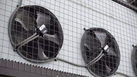 工业空调器单位爱好者转动 影视素材