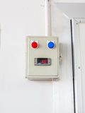 工业空调器控制 免版税库存图片