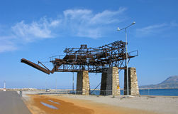 工业纪念碑 免版税图库摄影