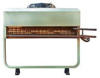 工业背景的外在空调器单位 库存图片