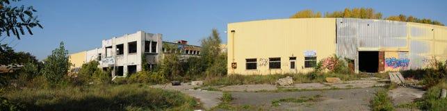 工业荒原在莱米罗 库存图片