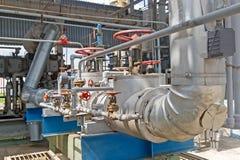 工业设备和管道 图库摄影