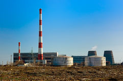 工业设施 免版税库存图片