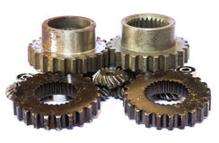 工业金属齿轮 库存图片
