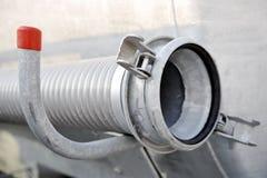 工业金属水管 免版税库存图片
