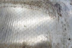 工业钢困厄的头脑肮脏表面重 免版税库存照片