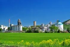 工业风景工厂厂房 免版税图库摄影