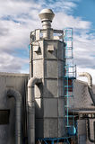工业飓风的空气过滤器 库存图片