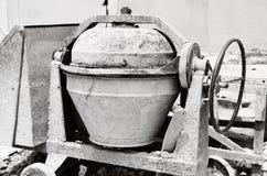 工业水泥搅拌车机器 库存图片