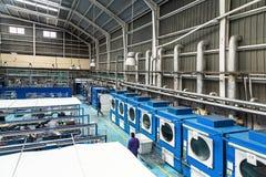 工业洗衣店 免版税图库摄影