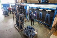 工业洗衣店 库存图片