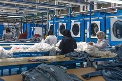 工业洗衣店 免版税库存图片