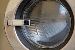 工业洗衣机 免版税库存照片