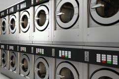 工业洗衣机 库存照片