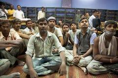 工作为公平交易在Agr的塔拉组织的小组工作者 免版税库存照片