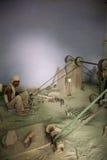 工作为塔拉,一个公平交易组织的工匠根据在A 图库摄影