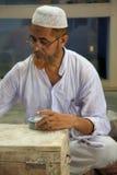 工作为塔拉,一个公平交易Organizatio的工匠 库存图片